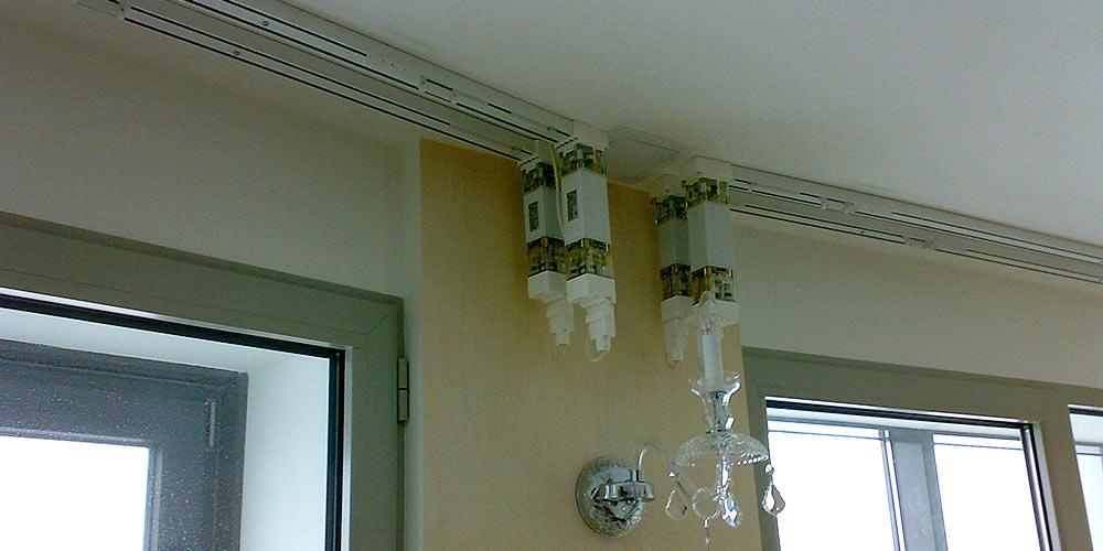 Электропривод шторами своими руками 107
